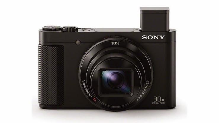 Sony Mendedahkan Slim Cyber-shot kamera HX90V Superzoom
