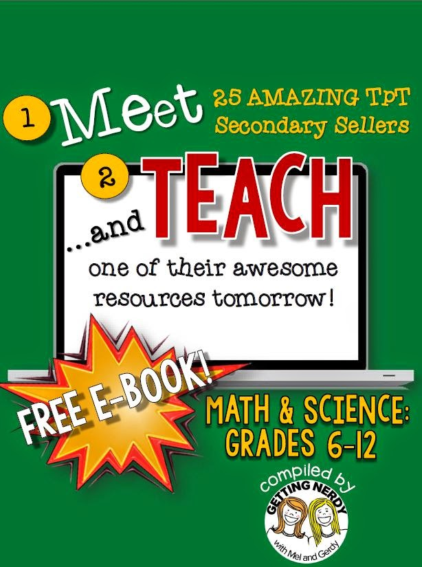http://www.teacherspayteachers.com/Product/Meet-and-Teach-eBook-Math-Science-Grades-6-12-Free-1466695