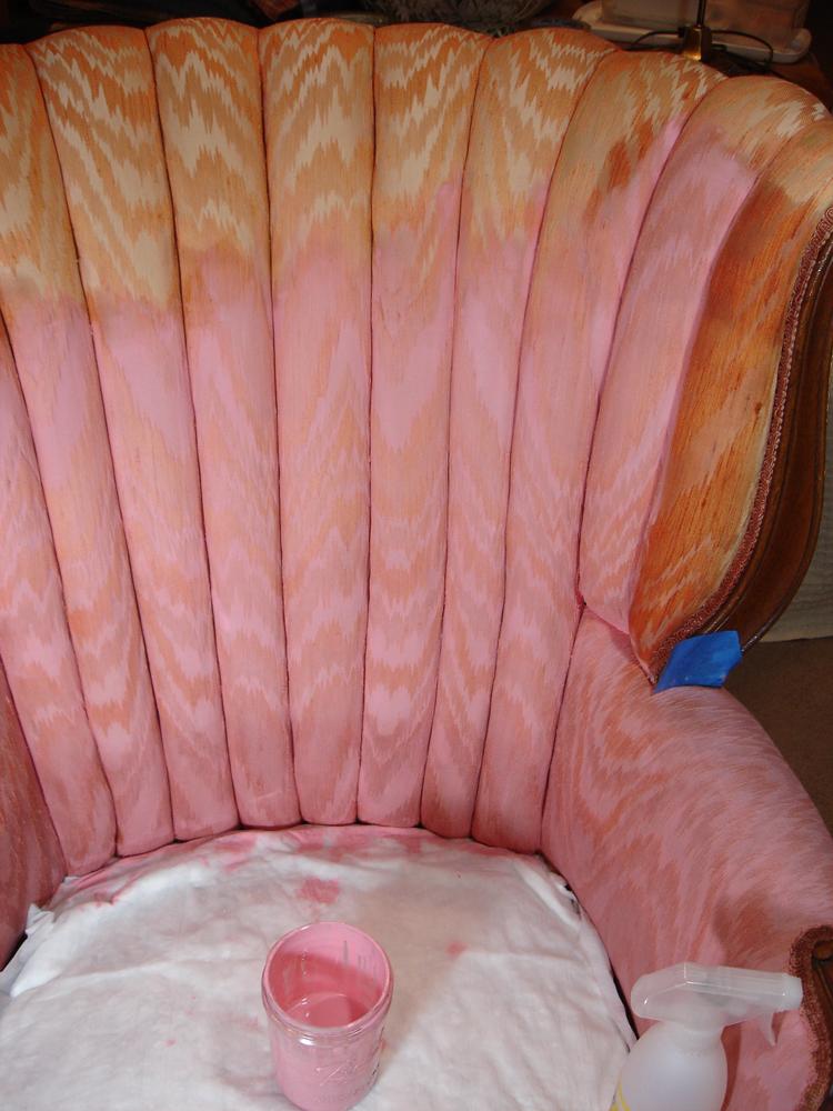 Spray Painting Upholstery Foam