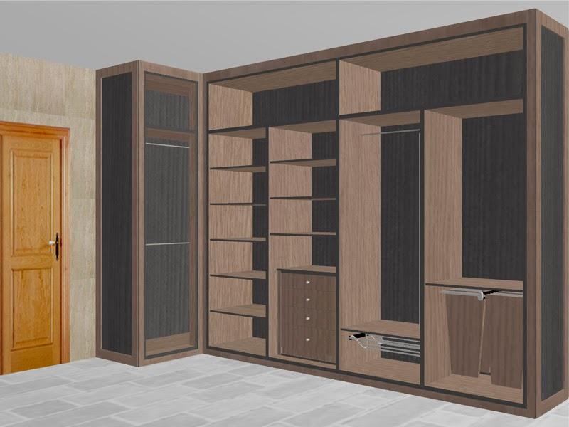 Serranos studio distribuir el interior de tu armario empotrado - Armarios de esquina a medida ...