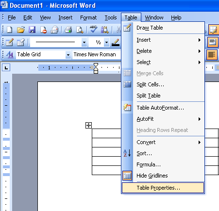 Change the cell margin in a table microsoft office support for Table th margin