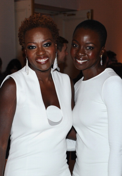 Danai Gurira and viola davis related