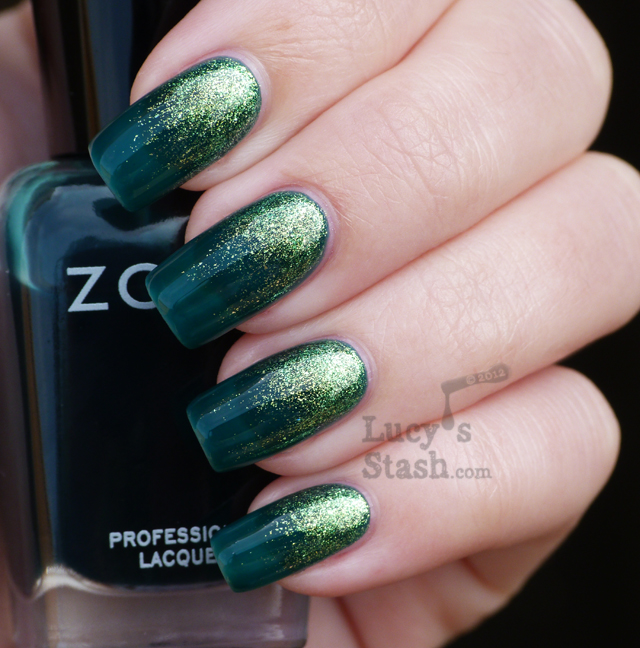 Lucy's Stash - Zoya Apple over Frida gradient
