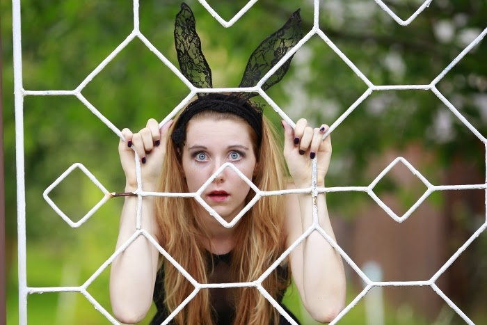 funny photoshoot, cute girls, rabbit ears, style without limits