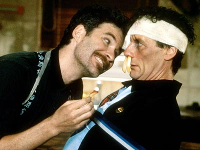 an analysis of kevin klines performance in a fish called wanda Howard brackett (kevin kline) is a teacher who is about to get married then, one of his former students wins an oscar for a film in which he plays a gay soldier and thanks howard in his acceptance speech, outing him as being gay too.