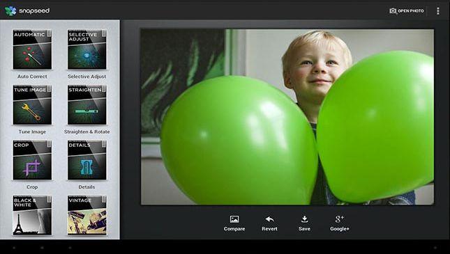 Aplikasi edit foto android terbaik - snapseed
