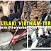 Kaki Lelaki Vietnam Tersepit Celah Besi Longkang (5 Gambar)