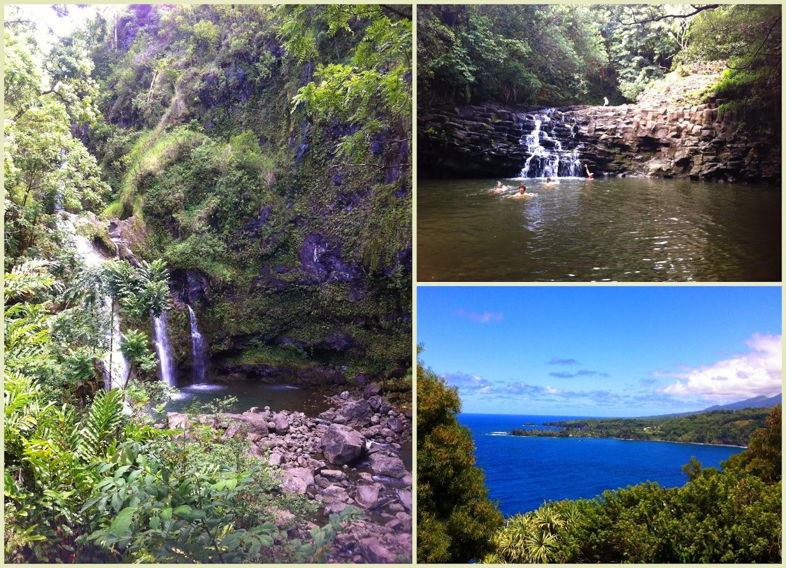 """""""Hana Road Maui cascadas piscinas sagradas"""""""