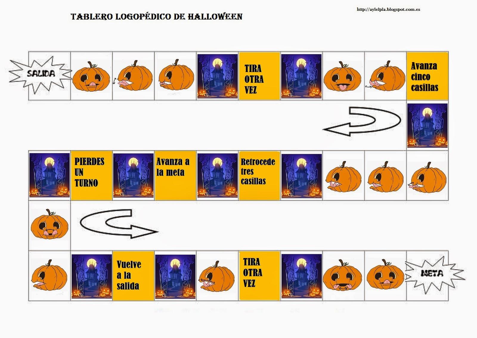 El rinconcito de Audición y Lenguaje: Material de Halloween