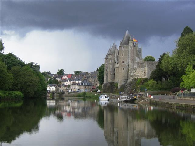 We Left The Scenic Crozen Peninsula And Headed South Via Quimper Lorient Languidic To Pretty Village Of Josselin Which Lies On Banks
