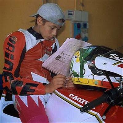The Cagiva Mito Valentino Rossi  , italian article