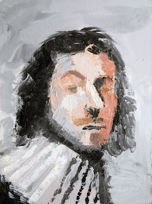 Portrait painting of Sir Whats Is Name