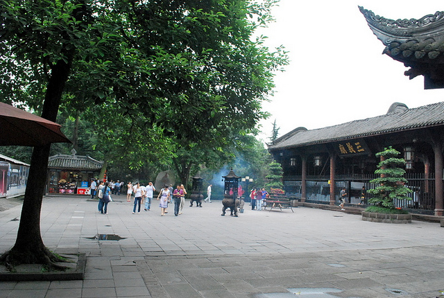 Martial Marquis Memorial Temple, Wu Hou Ci