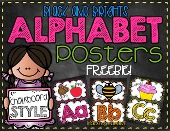 http://www.teacherspayteachers.com/Product/Black-Brights-Chalkboard-Alphabet-FREEBIE-1260044