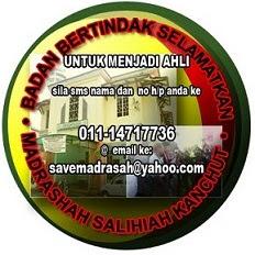 Selamatkan Madrasah Salihiah