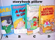 Cloth story book pillow