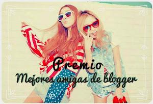 1 Premio Mejores amigas de blogger
