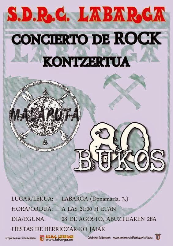80 BUKOS, EL REGRESO!!