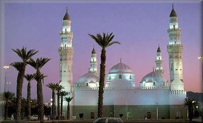 When was Islam's first mosque built