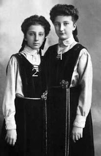 Princess Eudoxia of Bulgaria and Princess Nadezhda of Bulgaria
