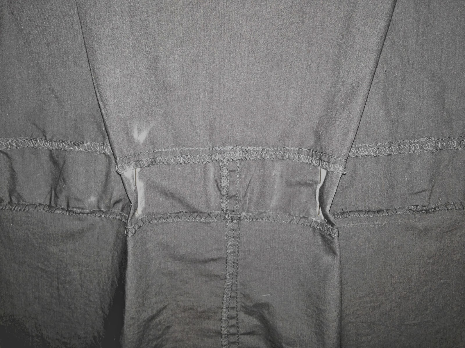 Ulterior Alterations: Refashioned Utility Vest Dart Detail