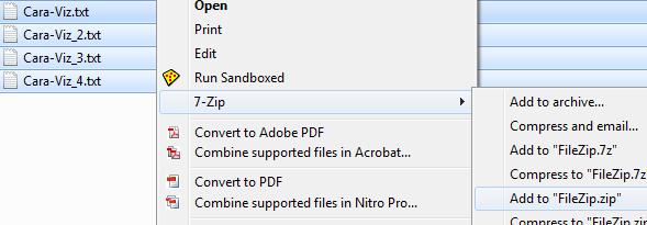 Cara Menyembunyikan File Zip Pada Gambar Tanpa Software Tambahan