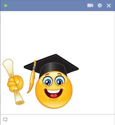 College Graduate Smiley