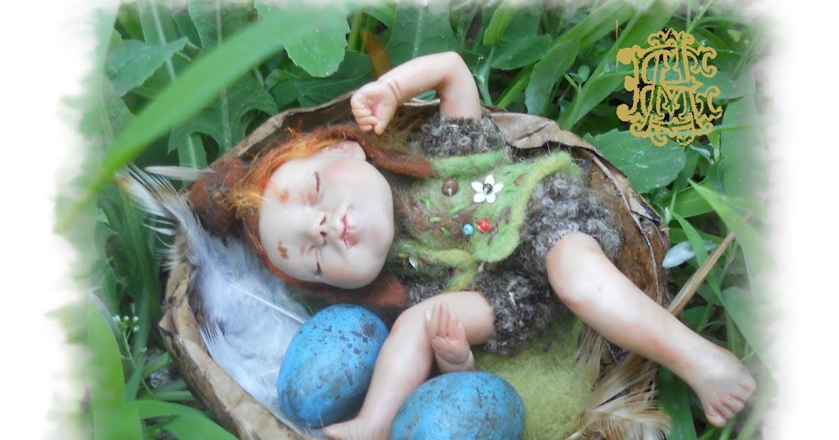 Малютка Свен - спящий эльф - Alena Eliseeva dolls and bears