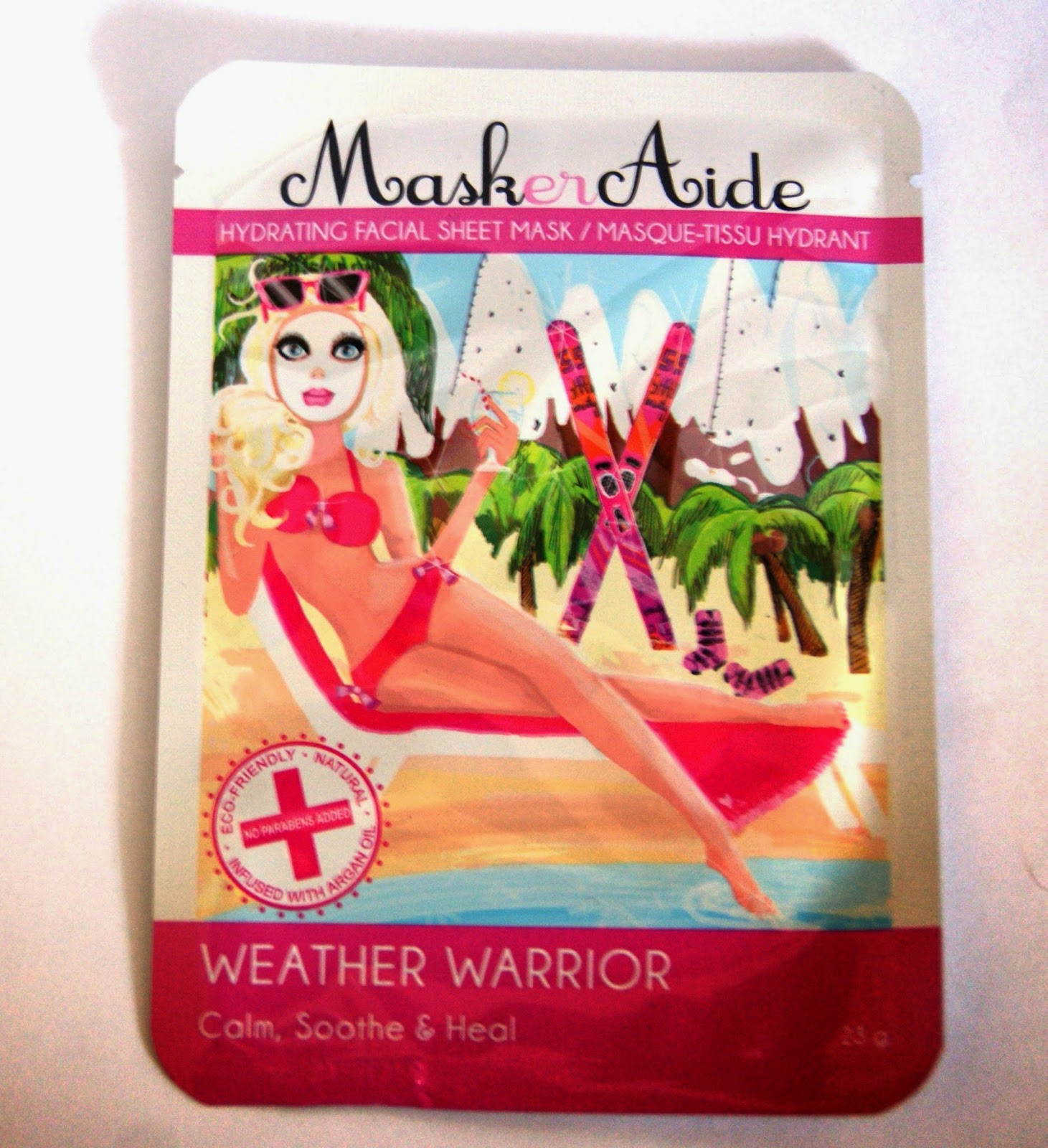 MaskerAide Facial Sheet Masks: Weather Warrior, All Nighter, and Pre Party Prep Beauty Review Skincare Melanie.Ps The Purple Scarf Blogger from Toronto
