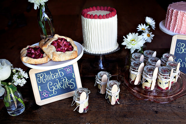 Rustic Mini Desserts and Cakes in Minneapolis