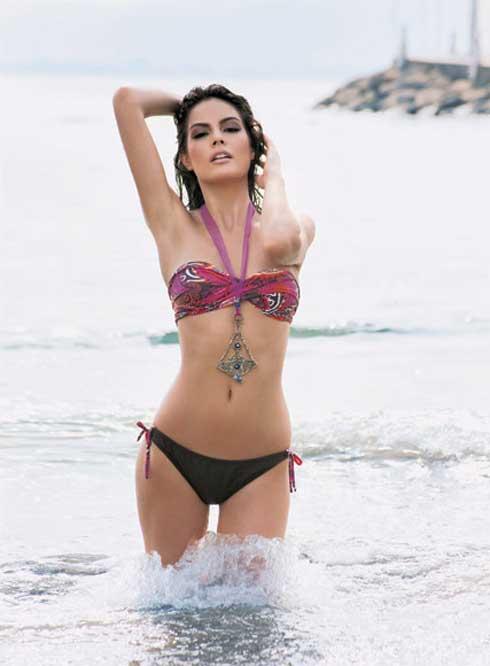 Ximena Navarrete y la dieta balanceada