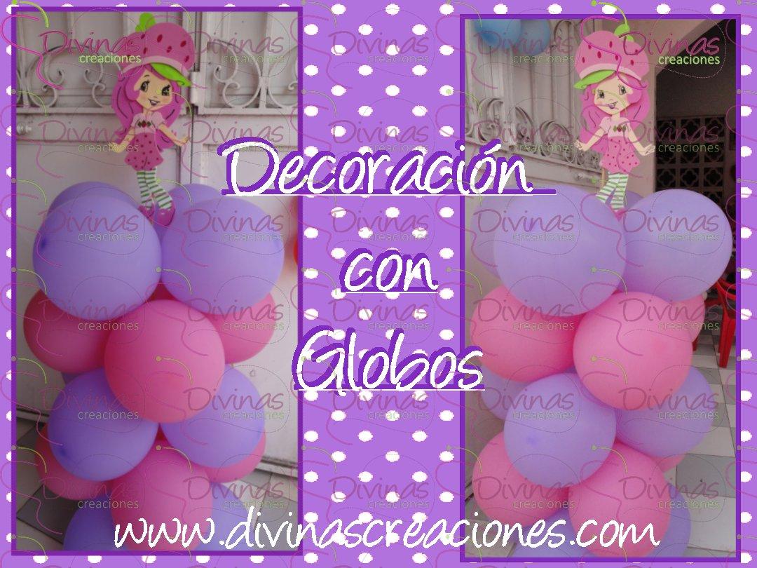 Fiesta Centro - Decoraciones - Globos Metalicos