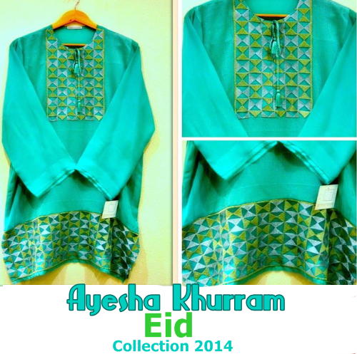 Ayesha Khurram Eid Collection 2014