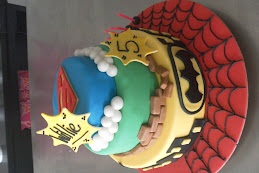 willies 5th birthday cake