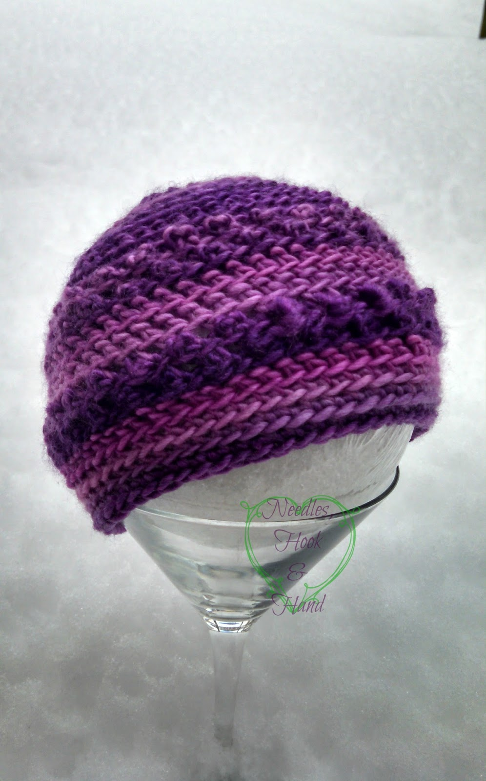 Felted Button - Colorful Crochet Patterns: Only Just Born Hat Free ...