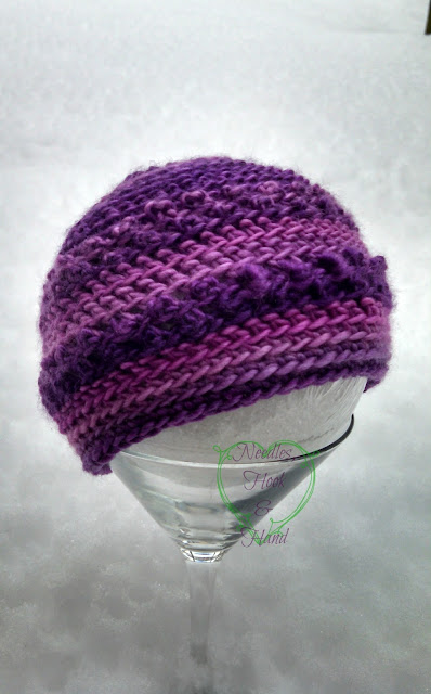 Only Just Born Hat (free crochet pattern) by Susan Carlson of Felted Button
