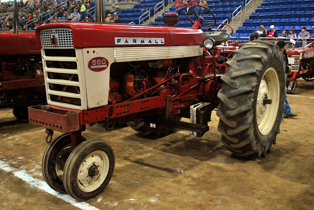 vintage Farmall - Farm Show, courtesy Philly Food Feed