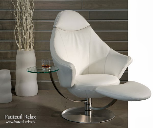 Fauteuil relax satellite leather inclinable fauteuil relax - Fauteuil relax inclinable ...