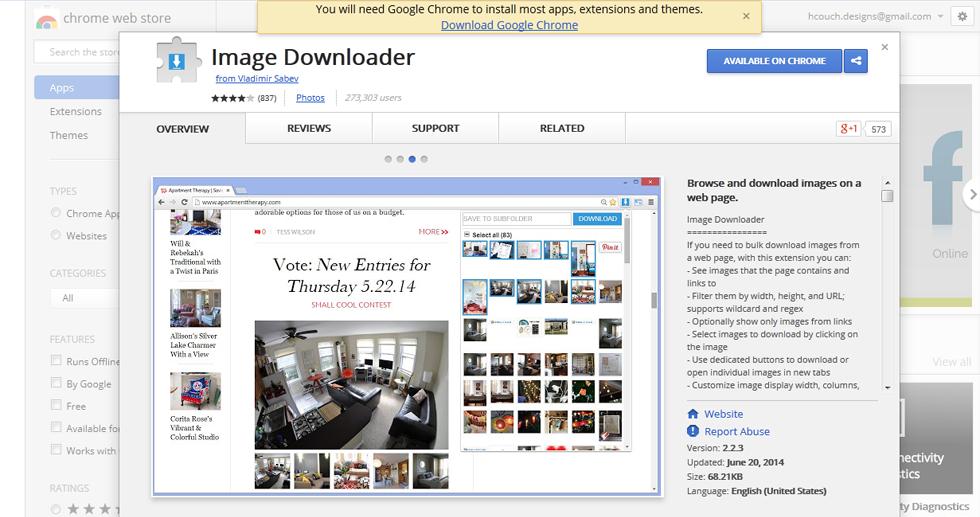 5 . Image Downloader