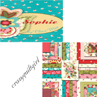 Moda SOPHIE Quilt Fabric by Chez Moi