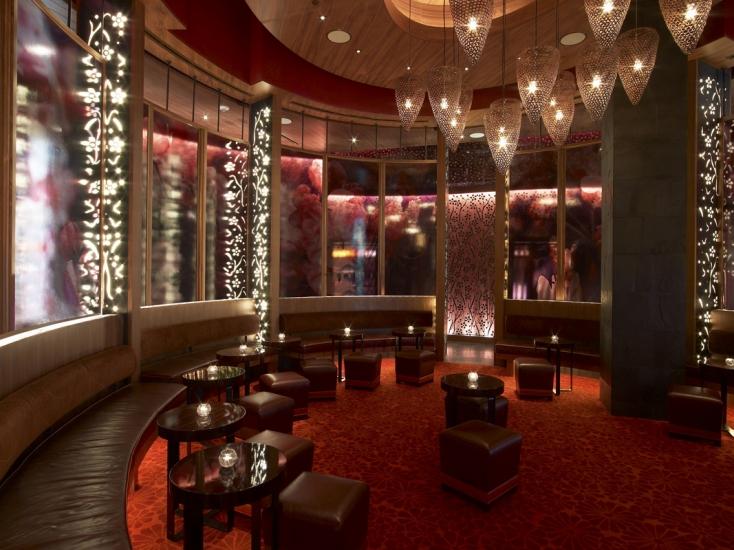 Restaurant Interior Design | Nobu | Atlantis The Palm | Dubai | Rockwell  Group