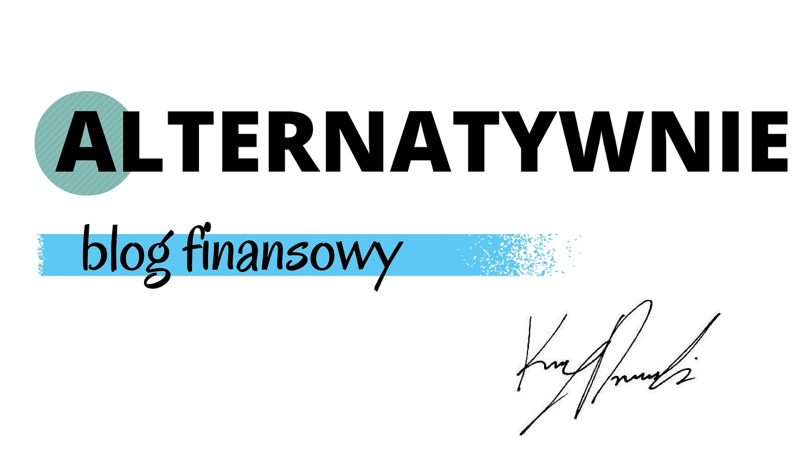 Alternatywnie blog finansowy