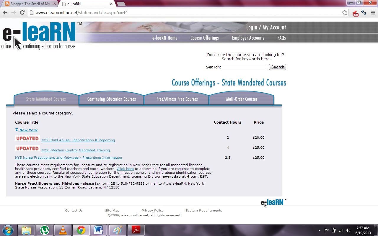 The smell of my memory filipino nurse diy application for nclex i have yet to take the ny mandated courses online since i answered yes in the application at httpelearnonlinestatemandatepxx44 for the xflitez Gallery