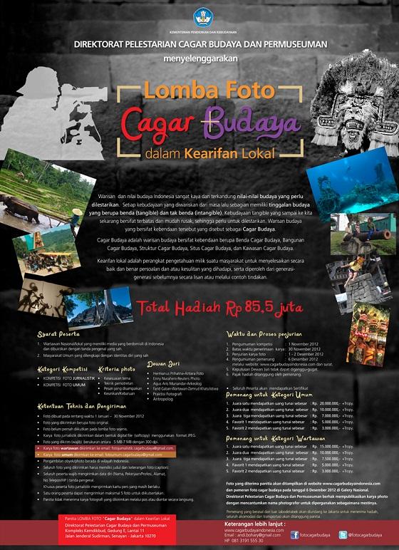 Lomba Foto Cagar Budaya dalam Kearifan Lokal - Direktorat Cagar Budaya