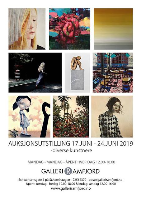 AUKSJONSUTSTILLING JUNI 2019