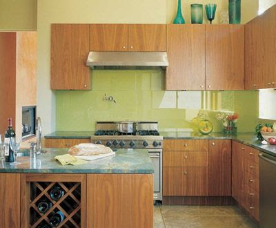 Refresheddesigns Green Idea Diy Kitchen Backsplashes