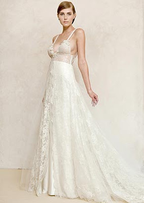 straps v-neck lace flower floor-length wedding dress