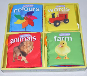 SoftPlay Baby's First CLOTH BOOKS Gift Set