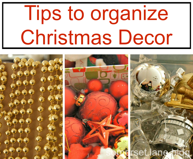 tips to organize Christmas