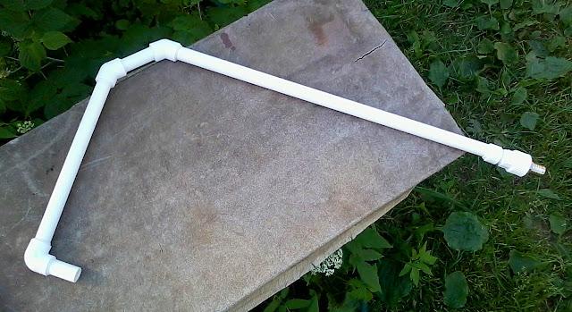 Пайка полипропиленовой трубы из уголков фото